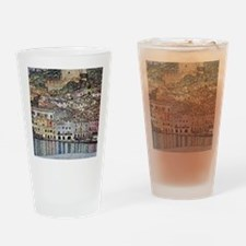 Klimt Malcesine on Lake Garda Drinking Glass
