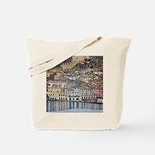 Klimt Malcesine on Lake Garda Tote Bag