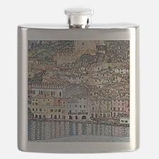 Klimt Malcesine on Lake Garda Flask