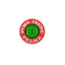 Poland Beer Label 5 Mini Button (10 pack)