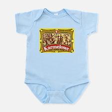 Poland Beer Label 4 Infant Bodysuit