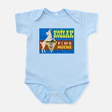 Poland Beer Label 3 Infant Bodysuit
