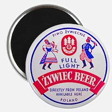 """Poland Beer Label 2 2.25"""" Magnet (100 pack)"""