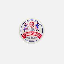 Poland Beer Label 2 Mini Button