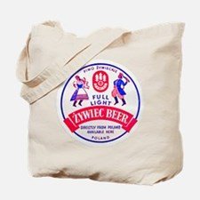 Poland Beer Label 2 Tote Bag