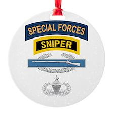 SF Sniper CIB Airborne Senior Ornament