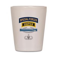 SF Sniper CIB Airborne Senior Shot Glass