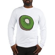 Tasty Kiwifruit Long Sleeve T-Shirt