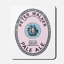 United Kingdom Beer Label 12 Mousepad