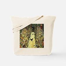 Gustav Klimt Garden Paths With Chickens Tote Bag