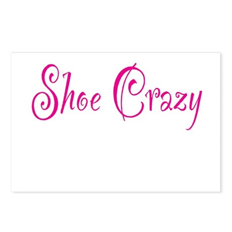 Shoe Crazy Postcards (Package of 8)
