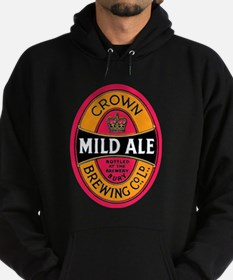 United Kingdom Beer Label 3 Hoodie (dark)