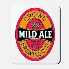 United Kingdom Beer Label 3 Mousepad
