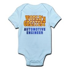World's Greatest Automotive Engineer Infant Bodysu