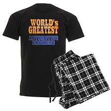 World's Greatest Automotive Engineer Pajamas