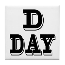 D-Day Tile Coaster