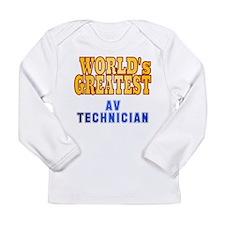 World's Greatest AV Technician Long Sleeve Infant