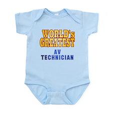World's Greatest AV Technician Infant Bodysuit