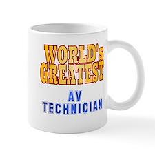 World's Greatest AV Technician Mug