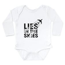 Chemtrails Long Sleeve Infant Bodysuit