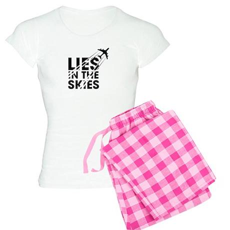 Chemtrails Women's Light Pajamas