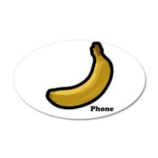 Banana Phone Wall Decal
