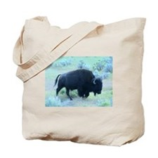 Yellowstone Buffalo Tote Bag