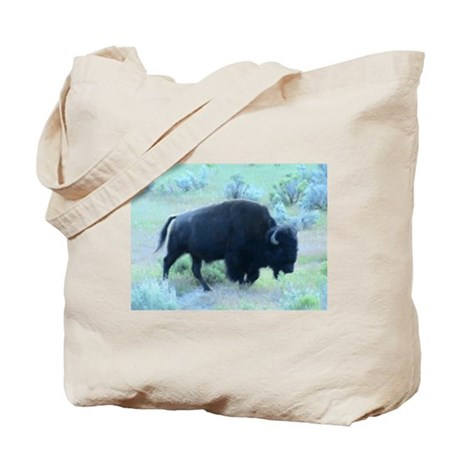 Yellowstone Buffalo Tote Bag