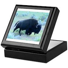Yellowstone Buffalo Keepsake Box