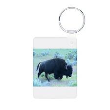 Yellowstone Buffalo Keychains