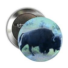 "Yellowstone Buffalo 2.25"" Button"