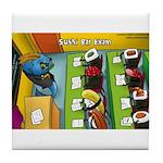 Sushi Bar Exam (raw Law?) Tile Coaster