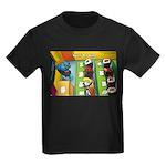 Sushi Bar Exam (Raw Law?) Kids Dark T-Shirt