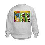 Sushi Bar Exam (Raw Law?) Kids Sweatshirt