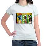 Sushi Bar Exam (Raw Law?) Jr. Ringer T-Shirt