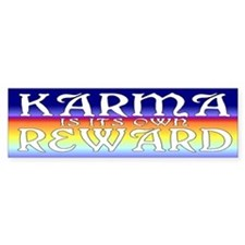 Karma Bumper sticker