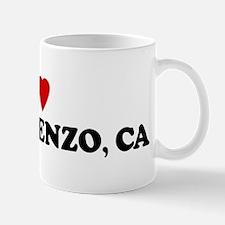 I Love SAN LORENZO Mug