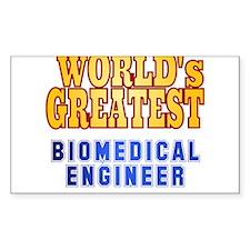 World's Greatest Biomedical Engineer Decal