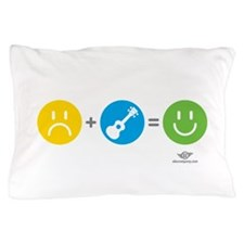 Happy Ukulele Pillow Case