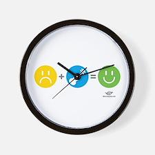 Happy Ukulele Wall Clock
