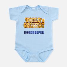 World's Greatest Bookkeeper Infant Bodysuit