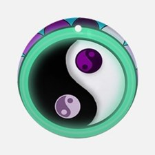 Glowing Zen Ornament (Round)