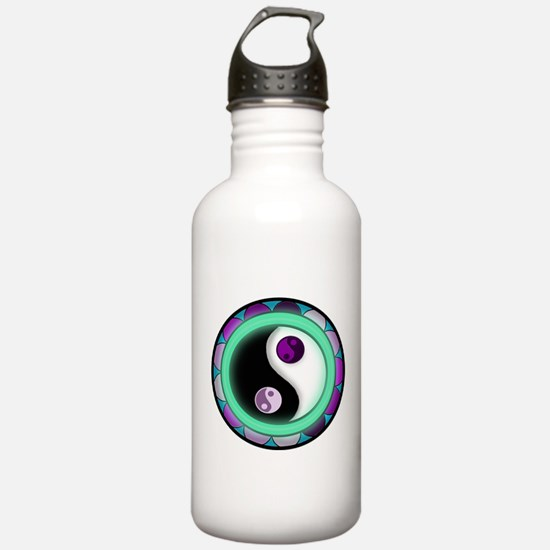 Glowing Zen Sports Water Bottle
