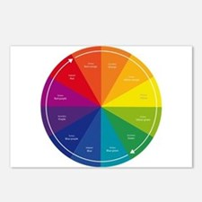 The Color Wheel Postcards (Package of 8)