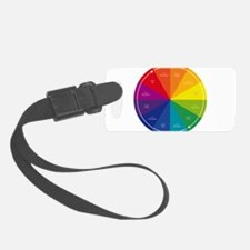 The Color Wheel Luggage Tag