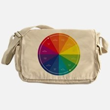 The Color Wheel Messenger Bag