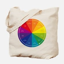 The Color Wheel Tote Bag