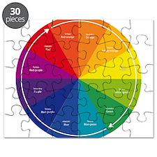 The Color Wheel Puzzle
