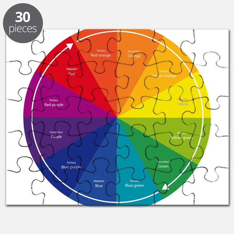The Color Wheel Puzzle