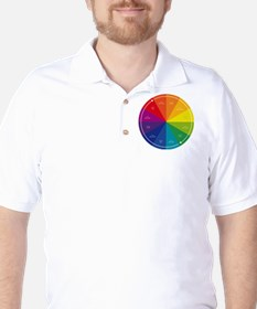 The Color Wheel Golf Shirt